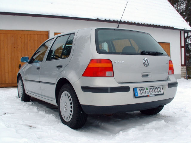 My winter beater. A VW Golf IV